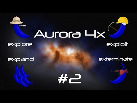 Aurora 4x: Space Strategy - Episode 2 - Survey Ship Design - Let's Play - Gameplay