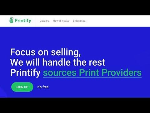 Printify Brings Print on Demand Network to WooCommerce