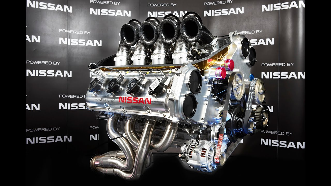 Nissan Motorsport Supercar Engine Unveil Youtube