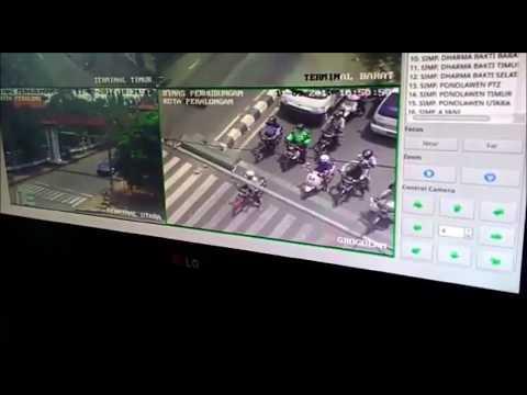 Hei Kamu, Iya Kamuu, Ini Penampakan Teguran Langsung Persiapan Tilang Online By CCTV