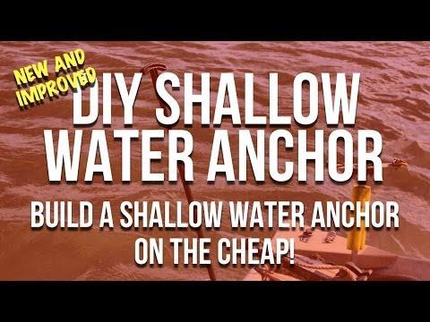 DIY Shallow Water Anchor - An Anchor Pole