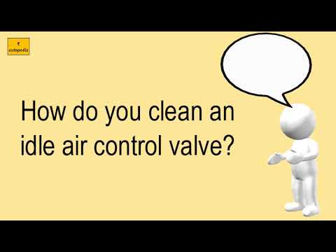 How Do You Clean An Idle Air Control Valve?