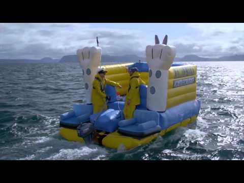 Jono and Ben's Bouncy Castle Crusade across Lake Taupo | Part 1 |