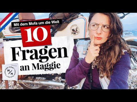 10 brennend heisse Mofa-Fragen an Maggie | Alles, was ihr schon immer wissen wolltet