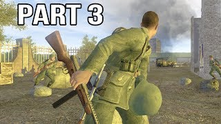Call of Duty 2 Gameplay Walkthrough Part 3 - Italian Campaign - Barbarossa