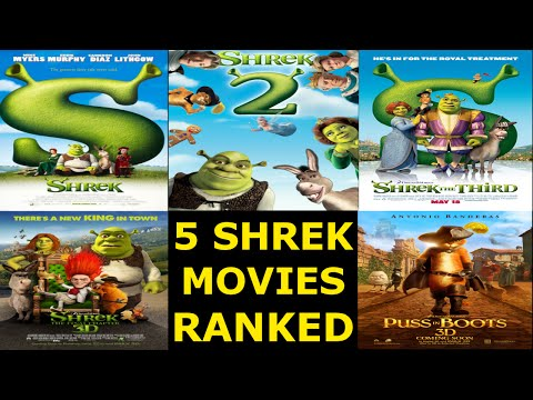 5 Shrek Movies Ranked Worst to Best - Ranked #11