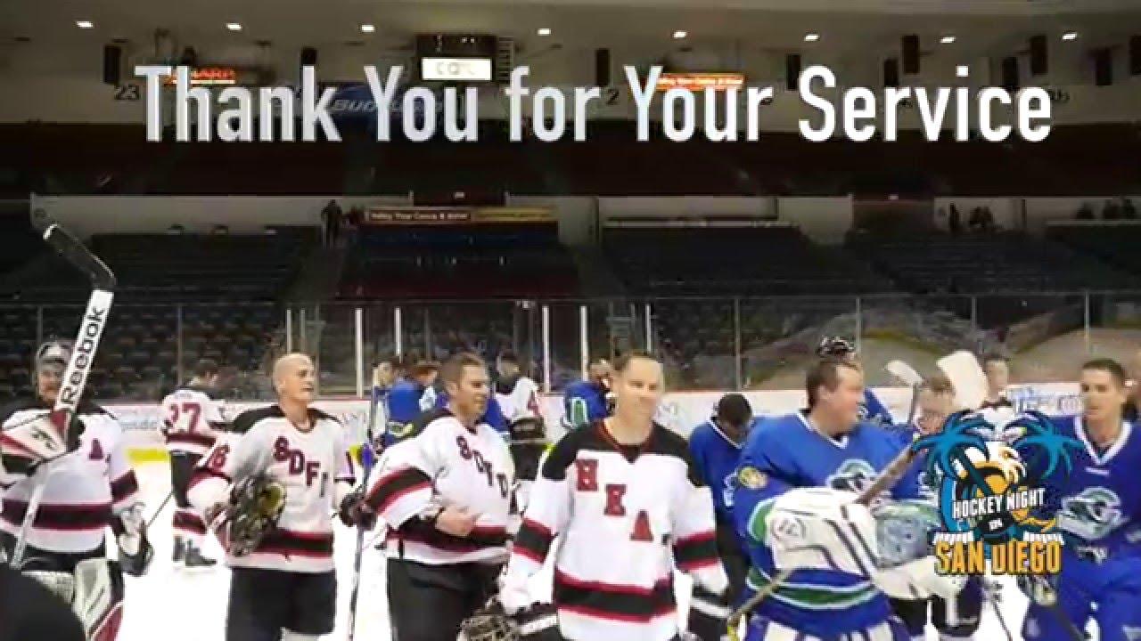 San Diego Police Vs Fire Hockey Post Sd Gulls Game 01 16
