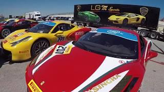 Ferrari Racecars Unloading at COTA (458, 488, FXX, LaFerrari)