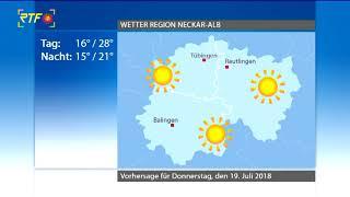 RTF.1 Wetter: 18.07.2018