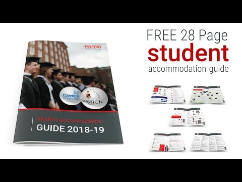 FREE 28 Page Student Accommodation Guide -  2018-19