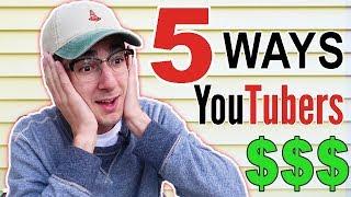 5 WAYS I MAKE MONEY ON YOUTUBE