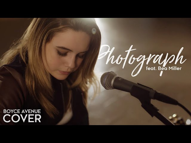 Photograph - Ed Sheeran (Boyce Avenue feat. Bea Miller acoustic cover) on Spotify & Apple