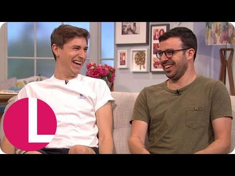 Simon Bird And Tom Rosenthal Talk Friday Night Dinner, Plebs And Shorts Modelling  Lorraine