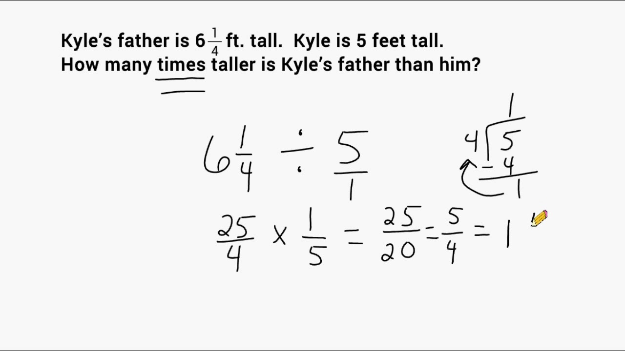 what is a mixed number word problem
