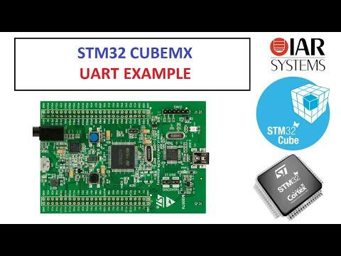 Stm32cubemx Uart Example
