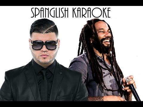 (English Karaoke) Farruko ft. Ky Mani Marley - Chillax