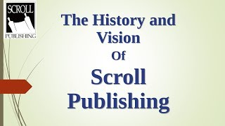 The History and Vision of Scroll Publishing — David Bercot | KFW 2017