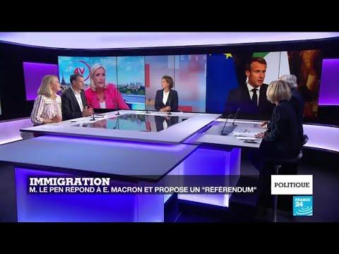 Politique - L'immigration, enjeu de la fin du quinquennat d'Emmanuel Macron ?