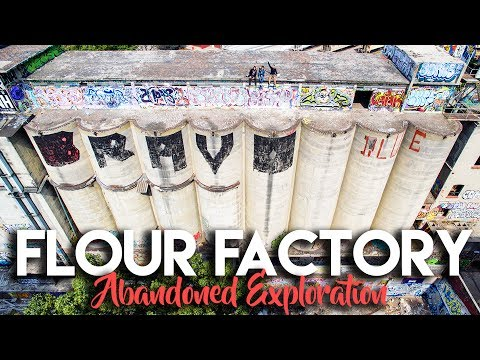 EXPLORING AN EXPLODED FLOUR FACTORY IN MEXICO CITY