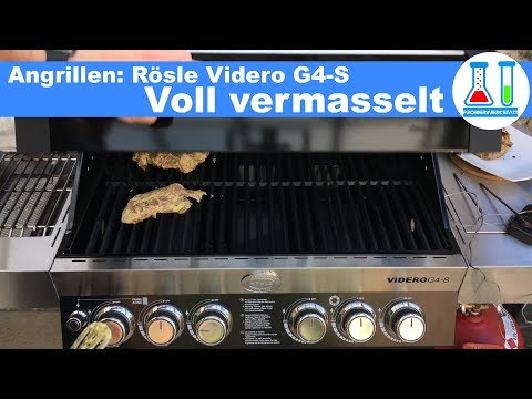 Rösle Gasgrill Steakzone : Rösle gasgrill aus edelstahl bbq station sansibar g mit vario
