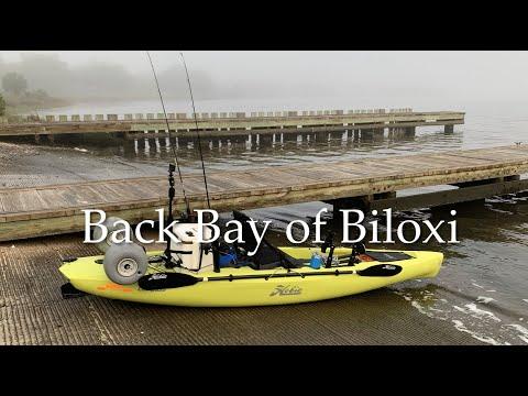 Fishing In Biloxi, MS Back Bay In My 2020 Hobie Compass Kayak.