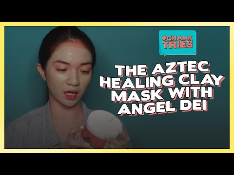#LookGood: Chalk Tries The Aztec Healing Clay Mask With Angel Dei
