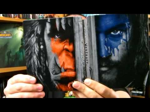 Warcraft le Commencement Bluray Steelbook Unboxing streaming vf