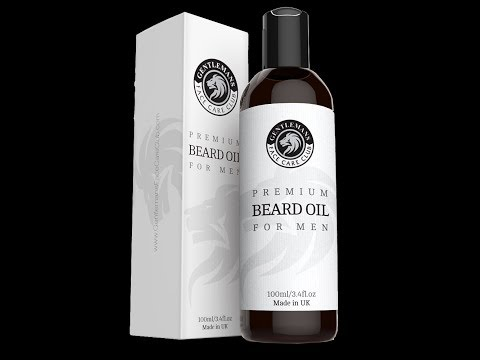 Beard oil *review - Gentlemans face care club