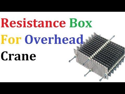 Resistance Box For Overhead Crane Or EOT Crane - YouTube
