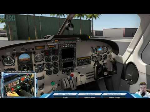 Carenado PA32 SARATOGA II TC X-Plane KTRM,KUDD, KPSP