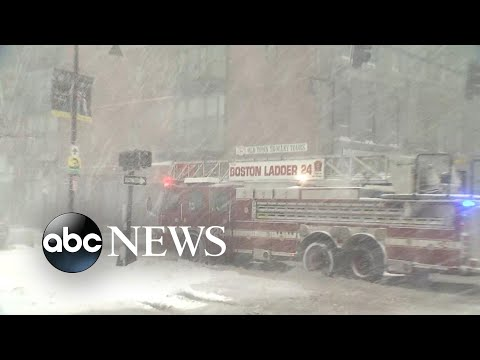 Winter 'bomb cyclone' hits the East Coast