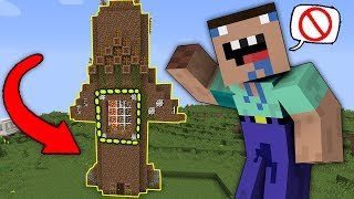 THE INVISIBLE PRO NOOB VS NOOB IN MINECRAFT! TROLLING ABOUT INVISIBLE IN MINE! 100% TROLLING NOOBS!