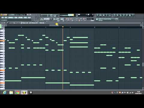 Impossible  James Arthur (Fl Studio Piano Instrumental)
