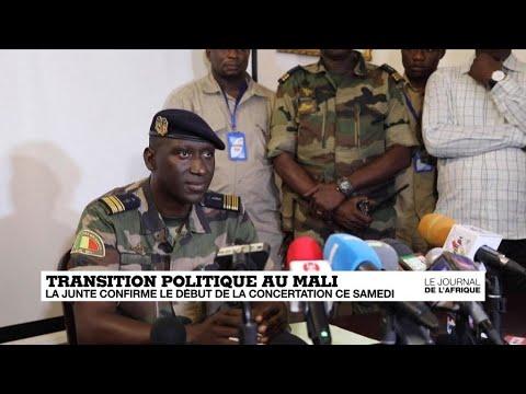 Transition politique au Mali : la junte confirme le début de la concertation ce samedi
