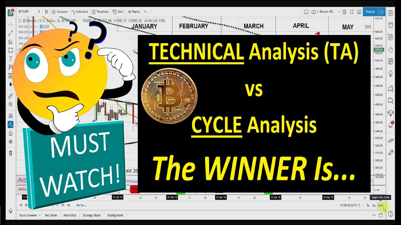Bitcoin 2019: TECHNICAL (TA) vs  CYCLE Analysis (Bo Polny)