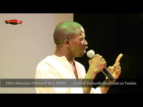 Discours du président Zida Abdoulaye JC - AESBT