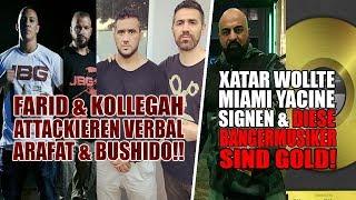 Kollegah & Farid Bang greifen Arafat,Bushido & Shindy an!!   Bangermusiker gehen GOLD   Miami Yacine