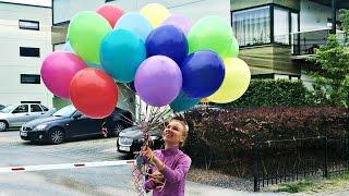 138 Влог День Рождения Антона. Сюрприз в кровать