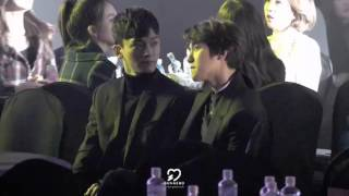 EXO Chen dancing AOA Cream I'm Jelly Baby
