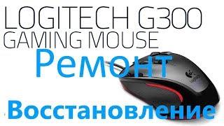 Как отремонтировать мышь без запчастей? (Logitech Gaming Mouse G300)