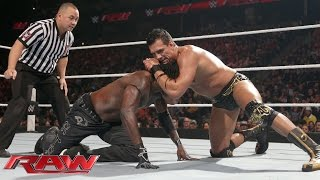 R-Truth vs. Alberto Del Rio: Raw, November 2, 2015