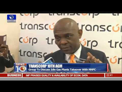 Transcorp Group To Discuss Idle Gas Plants Takeover With NNPC