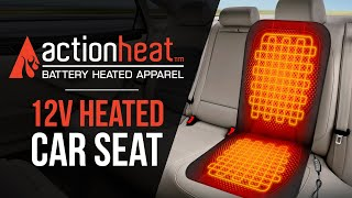 ActionHeat 12v Heated Car Seat Cushion - TheWarmingStore