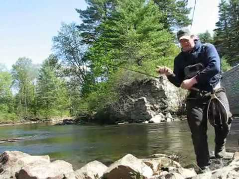 Fly fishing schroon river youtube for York river fishing report