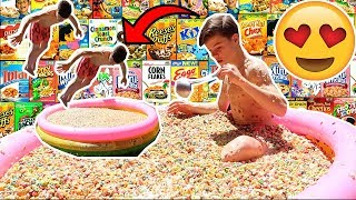 LARGEST BOWL OF CEREAL! *GONE WRONG*
