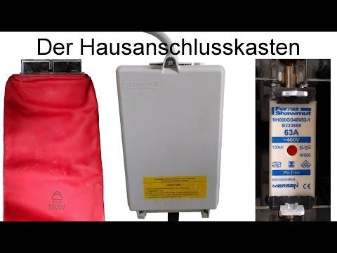 Der Hausanschlusskasten HAK (Panzerkasten) / NH-Sicherungen