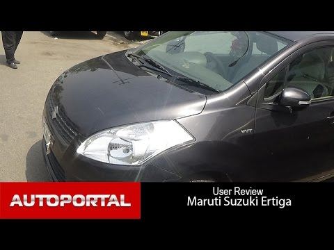 Maruti Suzuki Ertiga User Review - 'great car' - Autoportal
