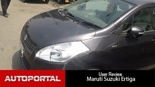 Maruti Suzuki Ertiga User Review - 'great car' - Autoportal