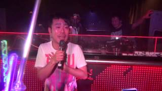 2013.04.22(Mon) GIRAFFE osaka 4F Party Rocking Special Guest 藤井隆