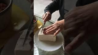 두부만들기 making tofu